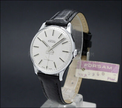 New Old Stock 60s FORSAM Army Movement Unitas 6325 vintage mechanical watch NOS