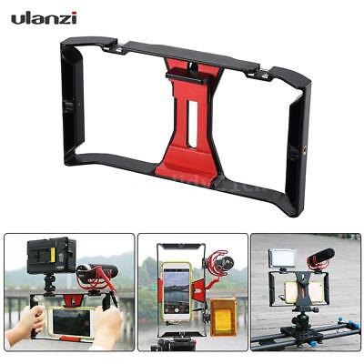 Video Camera Cage Stabilizer Film Making Rig for iPhone SAMSUNG Smart Phone F9G4
