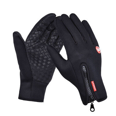 Outdoor sports hiking winter bicycle bike cycling gloves men women glove leather