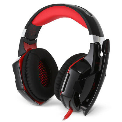 KOTION EACH G2000 Stereo Gaming Wired Headset Microphone On-cord Control