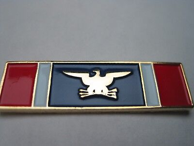 Military Service Award Commendation Metal Pin Police Sheriff Enameled Colors
