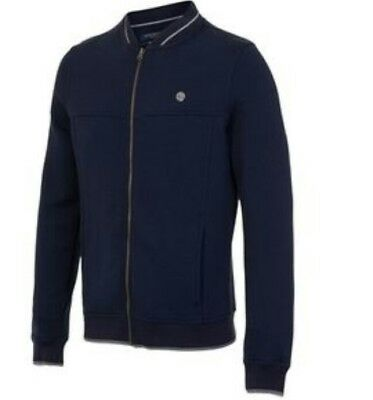 Y20# Manchester City Terrace Full Zip Sweat - Navy Size X Large RRP  £50.00