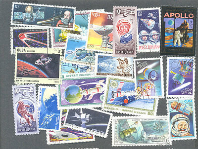 Space 300 all different stamps collection-excellent value