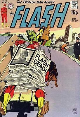 The Flash (Vol. 1) 199 Aug 70