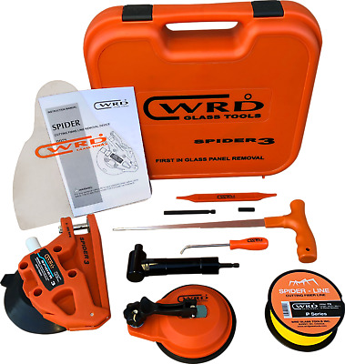 WRD Spider 3 Kit 300W Auto Glass Removal Tool Kit ( New Design, Just Released )