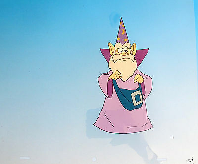 MERLIN THE MAGICIAN Hand Painted Original Animation Cel