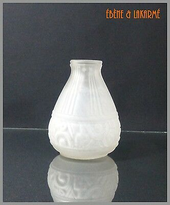 Vase Art Deco Signe Etaleune Paris France