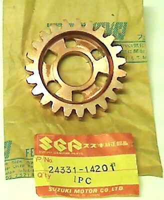 Suzuki Rm250 X 1981, New Original Gear 3Rd Driven (Nt:23), 24331-14201