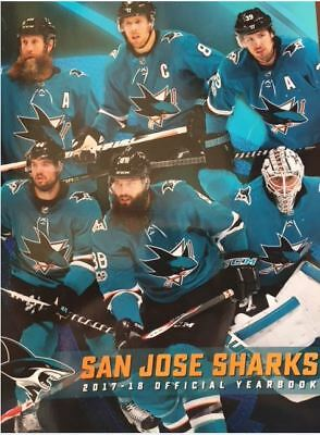 2017-2018 San Jose Sharks Yearbook Nhl Stanley Cup Finals? Nhl Hall Of Fame