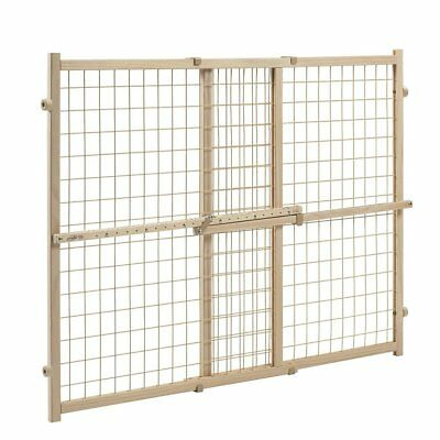Deluxe Easy Open EXTRA WIDE Pet Pets Baby Babies Child Proof Wood Safety Gate