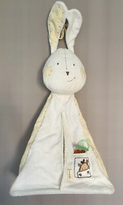 Mamas & papas baby nappy stacker Bag holder side of cot bunny Nursery storage