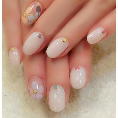 600 Pcs Beauty False Ballerina Women Nails Full Cover Coffin Shape Nail Art Tips