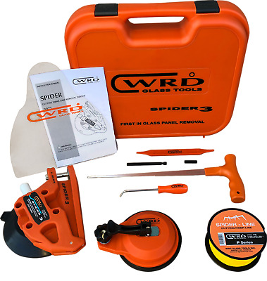 WRD Spider 3 Kit 300K Auto Glass Removal Tool Kit ( New Design, Just Released )