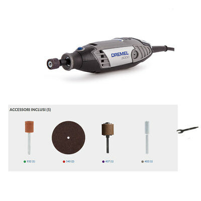 Kit multifunzione Dremel 3000 5  accessori F0133000JW