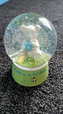 *bear And The Bee - Baby's Snow Globe - From Mothercare - Vgc*