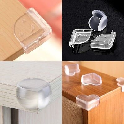 10Pcs Clear Corner Edge Furniture Protector Baby Toddler Guard Cover Table