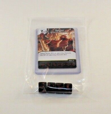 BLACKHEART Marvel Dice Masters Mighty Thor RARE Uncommon Set CUR 4 dice