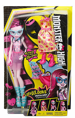 Monster High Lots of Looks Draculaura  6+  NEW   FHB21