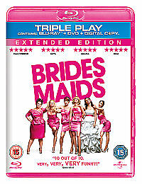 Bridesmaids (Blu-ray and DVD Combo, 2011, 3-Disc Set)