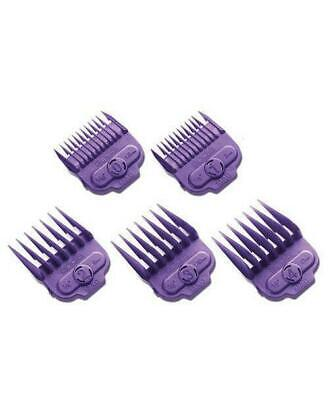 Andis Small Nano SINGLE Magnetic Comb Set (5 Pack) Clipper Guards #66345