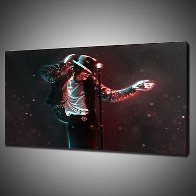 Michael Jackson Abstract Canvas Picture Print Wall Art Home Decor