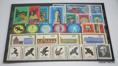German DDR 1965 SC#748-806, Stamps, 65 Pieces/20 Set, Mint Never Hinged, VF