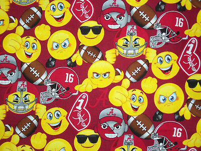 "Alabama Crimson Tide University Emoji Handcrafted Photo Album 5 1/2""X7"" 80 4""X6"""