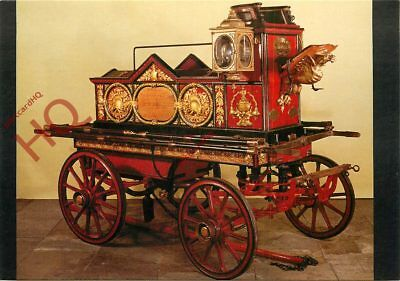 Picture Postcard-:HORSE-DRAWN FIRE ENGINE, 1862