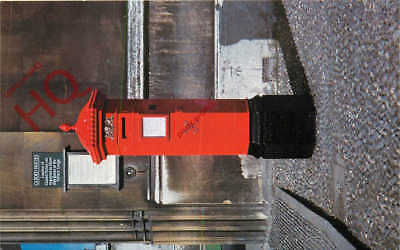 Picture Postcard::Postbox, Penfold Pillar Box, King's College, Cambridge