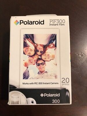 Polaroid PIF 300 Instant Film for 300 Series Cameras + DBRoth Micro Fiber Cloth