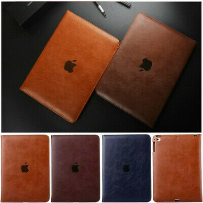For New iPad 9.7 6th Gen 2018/5th Gen 2017 Luxury Leather Case Stand Smart Cover