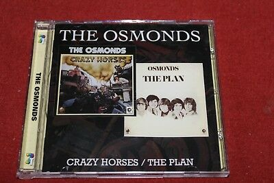 The OSMONDS Crazy Horses / The Plan CD