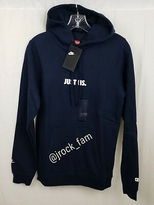ddc18c403aa3a Kith x Nike Take Flight Just Us Hoodie NAVY BLUE White NWT Size XSmall