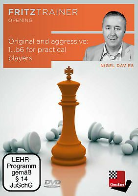 Original and aggressive: 1...b6 for practical players, Nigel Davies