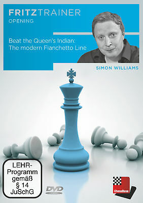 Beat the Queen's Indian: The modern Fianchetto Line, Simon Williams
