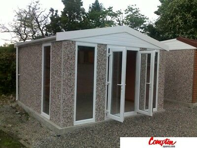 PREFAB GARAGES & BUILDINGS Apex Garden Room 12ft(W) x 10ft(D)