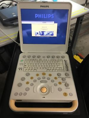 NEW PHILIPS CX50 PORTABLE + COLOR doppler. NO PROBES. SEALED BOX. 0-HR