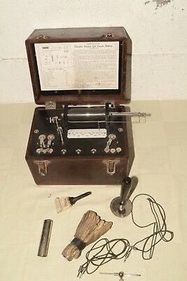 Antique SIGNAL ELECTRIC Quack Medicine FARADIC BATTERY Electric shock Therapy