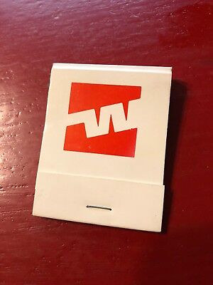 Vintage Western Airlines Complete Matchbook (Excellent Condition)