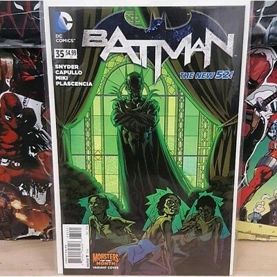 Batman vol 2 #35 Monsters Of The Month Variant Cover