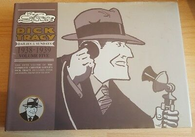Dick Tracy Dailies & Sundays Vol 5 1938-1939 by Chester Gould IDW HB 2008