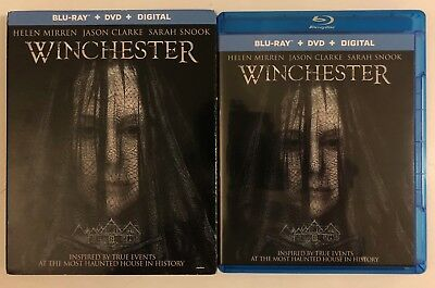 Winchester Blu Ray Dvd 2 Disc Set + Slipcover Sleeve Free World Wide Shipping
