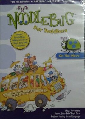 Noodlebug For Toddlers On The Move DVD ~ NEW SEALED #B2
