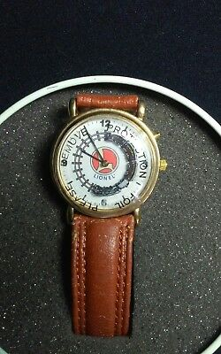 Nib Lionel Collectible Train Watch In New Running Condition In Original Tin