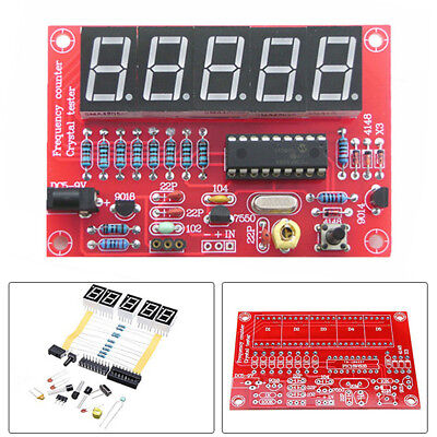 DIY Kits 1Hz-50MHz Crystal Oscillator Tester Frequency Counter Meter LED PIC