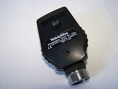 Welch Allyn Ophthalmoscope 11720 Head ONLY + bulb(in good condition)