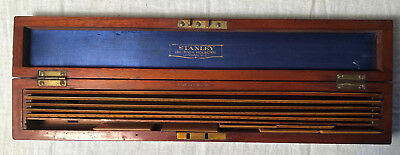 STANLEY 286 High Holborn London Boxwood Drafting Scales 30 through 6000 Cased