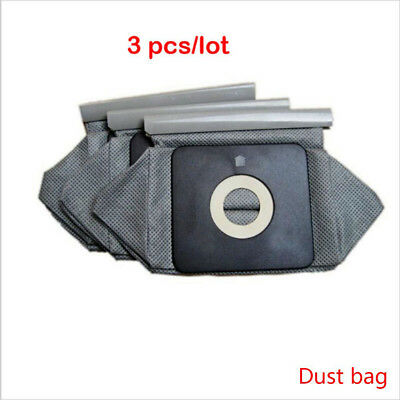 3Pcs New Portable Universal Reusable Cloth Bag Cleaner Dust Bags Vacuum