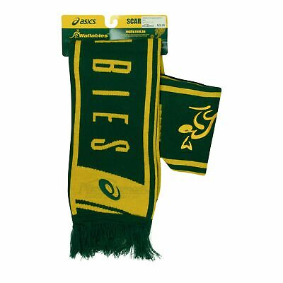 NEW Wallabies 2018 Supporter Scarf by Asics