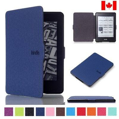 PU Leather Case Smart Cover For Amazon Kindle Paperwhite Sleep / Wake In Canada